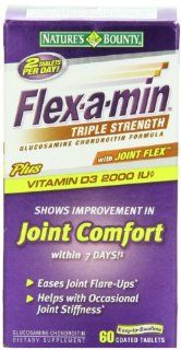 Nature's Bounty Flex a Min Triple Strength, 60 Tablets Health & Personal Care