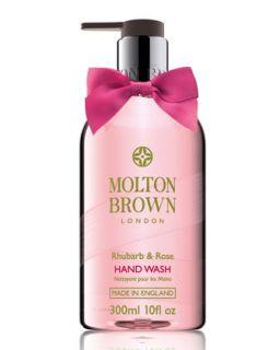 Rhubarb & Rose Hand Wash, 300 ml/10 fl. oz.   Molton Brown