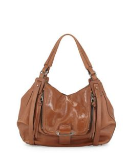 Jonnie Leather Hobo Bag, Earth   Kooba