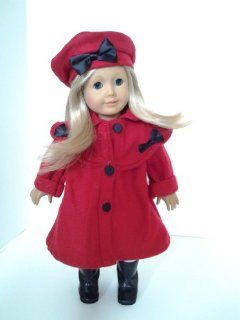 CHRISTMAS COAT FOR AMERICAN GIRL DOLLS Toys & Games