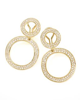 Stardust Open Snowman Clip Earrings   Ippolita
