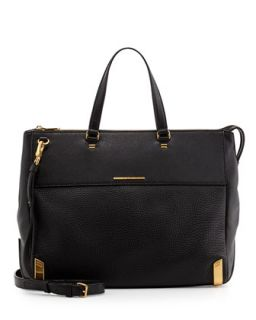 Shelter Island Jaime Tote Bag, Black   MARC by Marc Jacobs