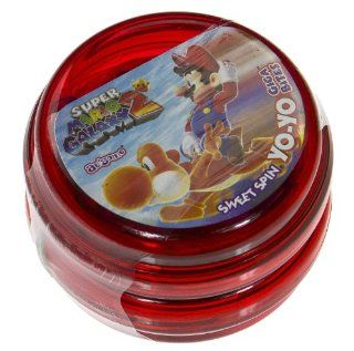 Super Mario Galaxy Sweet Spin Yo Yo Giga Bites Candy (Red) [SA ICSH] : Grocery & Gourmet Food