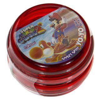 Super Mario Galaxy Sweet Spin Yo Yo Giga Bites Candy (Red) [SA ICSH] : Grocery & Gourmet Food