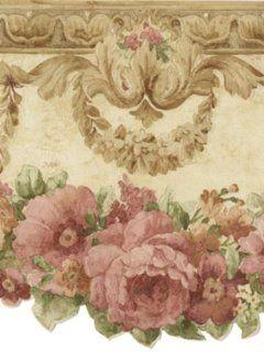 Wallpaper Brewster Cameo Rose Vol IV 979B02000   Wallpaper Borders