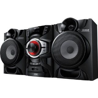 Samsung 220 Watt Bluetooth Hi Fi Audio Stereo Sound System with CD Player, FM Receiver with 15 Station Presets, Crystal Amplifier Plus, 20 preset EQ modes, CD Ripping, USB Host Electronics