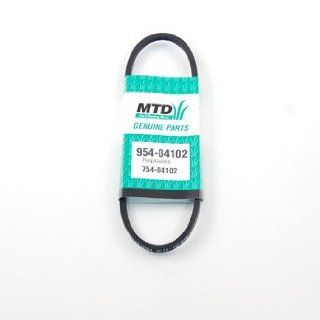 MTD Part 954 04102 BELT:3L:25.00 LG : Lawn Mower Belts : Patio, Lawn & Garden