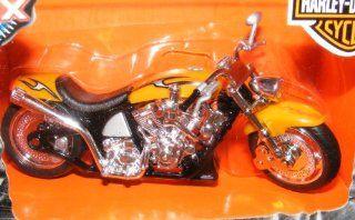Metal Maxx Harley Davidson Softail Deuce Die Cast Replica Toys & Games