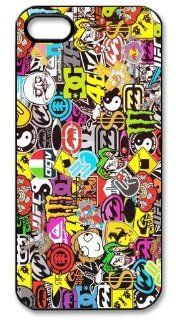 JDM Sticker Bomb Hard Case for Apple Iphone 5/5S Caseiphone 5 392: Cell Phones & Accessories