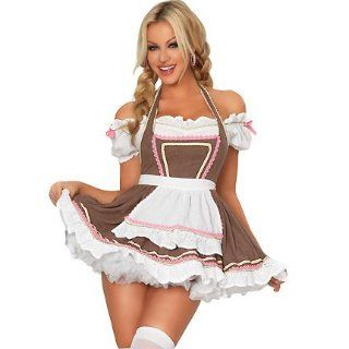 3WISHES 'Alpine Ale Girl Costume' Oktoberfest Sexy Beer Girl Costumes for Women: Adult Exotic Costumes: Clothing