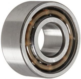 "SKF 3203 ATN9/C3 Double Row Ball Bearing, Converging Angle Design, 30� Contact Angle, ABEC 1 Precision, Open, Plastic Cage, C3 Clearance, 17mm Bore, 40mm OD, 11/16"" Width, 1980.0 pounds Static Load Capacity, 3218.00 pounds Dynamic Load Capacity: Deep"