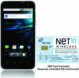 "No Contract NET10 LG P999 G2X Dark Ale 4G HSPA+ Capable, Android 2.2 OS, 4.0"" Touchscreen, 8 MP Rear Facing Camera: Cell Phones & Accessories"