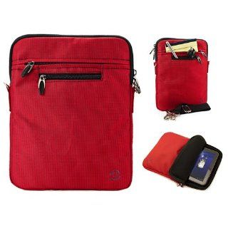 SumacLife Hydei Edition Red Nylon Sleeve Carrying Case with Removable Shoulder Strap for Toshiba Excite X10 / Toshiba AT200 10.1 inch Android Tablet Computers & Accessories