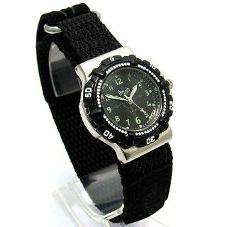 Terrain Black Velcro Strap Ladies Sports Surf Watch TV 970L: Watches