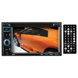 BOSS Audio BV9364B In Dash Double Din 6.2 inch Touchscreen DVD/CD/USB/SD/MP4/ Player Receiver Bluetooth Streaming Bluetooth Hands free with Remote