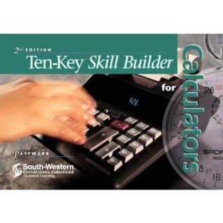 Ten Key Skill Builder for Calculators (Spiral)