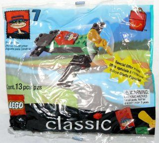 Lego Toy McDonald's LEGO Classic HAMBURGLAR'S Airplane #7: Everything Else