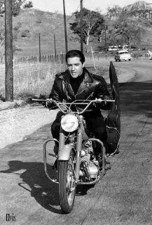 Elvis Presley Music Harley Motor Poster 4079  Prints
