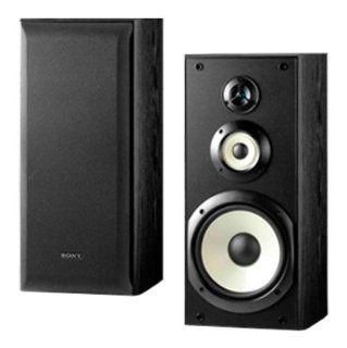Sony SS B3000 Bookshelf Speakers (Pair, Black) Electronics