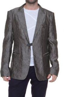 Emporio Armani Silk Jacket Blazer Sack Coat MATT LINE, Color: Beige at  Men�s Clothing store