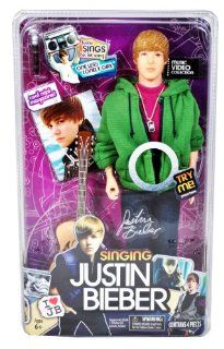 "Justin Bieber Singing Dolls   ""One Less Lonely Girl"": Toys & Games"