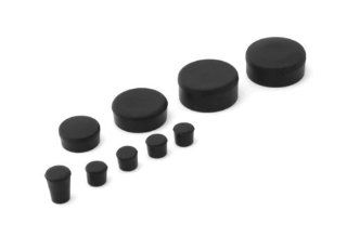 2005 2006 Suzuki GSXR 1000 Rubber Frame Plugs Set: Automotive