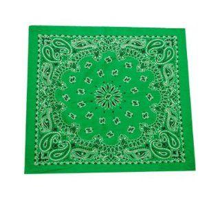 "New Green St. Patrick's Day Leprechaun Costume 21"" Bandana Head Scarf Costume Accessories Clothing"