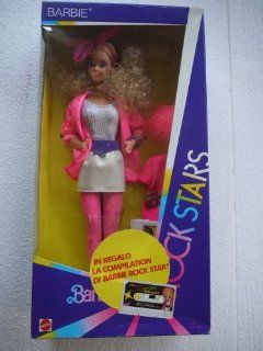 Rock Stars Barbie   (known in the USA as Barbie and the Beat)   in Purple Box for European Market 1985: Everything Else