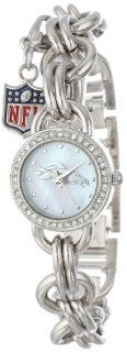 Game Time Women's NFL CHM DEN Charm NFL Series Denver Broncos 3 Hand Analog Watch Watches