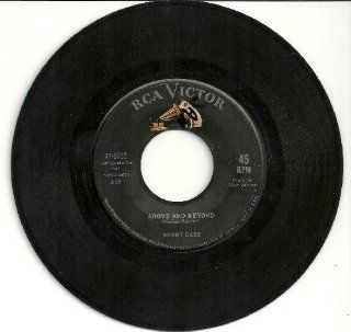 BOBBY BARE   shame on me/ above & beyond RCA 8032 (45 vinyl record): Music