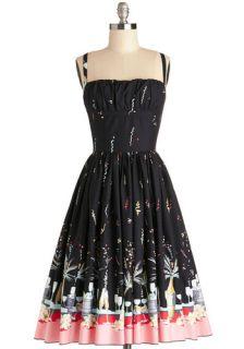 Bernie Dexter Countdown to Confetti Dress  Mod Retro Vintage Dresses