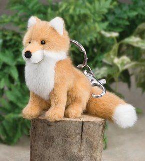 "3.5"" Fox Plush Stuffed Animal Keychain Toys & Games"