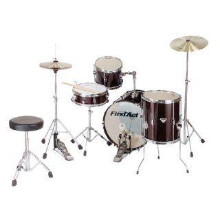 First Act MD700 7PC Drum Set: Musical Instruments