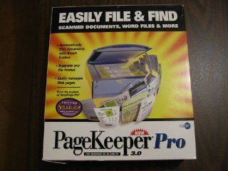1999 Caere Corporation PageKeeper Pro 3.0 For Windows 95, 98, and NT Blister Box Package (CD ROM Disc that requires Microsoft Windows 95, Microsoft Windows 98, & Microsoft Windows NT)(PageKeeper Pro is the easiest way to organize and retrieve scanned d