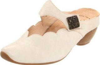 Think! Women's Aida Maryjane Mule 88256,Shell,36 EU (5 B(M) US): Shoes