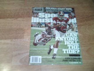 Sports Illustrated Magazine, September 9, 2013   Alabama cover Can Anyone Roll the Tide? A How to Guide for Johnny Football & Co.   Also, the Bucs Start Here and Golfing with Steph Curry  Other Products
