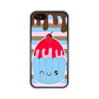 IPHONE 5 Kawaii Anime and Manga Cute Sundae Black Slim Hard Phone Case Designed Protector Accessory *Also Available for Iphone Apple 4 4S 4G and Samsung Galaxy S3* AT&T Sprint Verizon Virgin Mobile: Cell Phones & Accessories