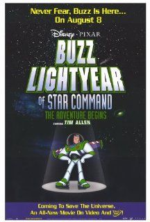 Buzz Lightyear of Star Command The Adventure Begins Poster 27x40   Prints