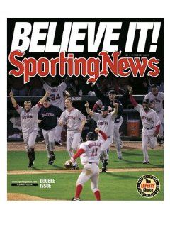 Sporting News Magazine November 08, 2004   Believe it! The Boston Red Sox win their first WorldPremium Poster Print, 24x32