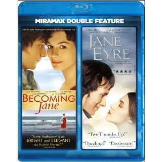 Becoming Jane / Jane Eyre [Blu ray]: James Cromwell, William Hurt, James McAvoy, Anne Hathaway, Julie Walters, Maggie Smith, Anna Paquin, Elle Macpherson, Julian Jarrold, Delbert Mann: Movies & TV