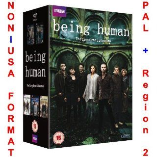 Being Human   Complete Series 1 5 Collection [NON U.S.A. FORMAT: PAL + REGION 2 + U.K. IMPORT] (Original Uncut British Version) (Season 1+2+3+4+5): NON U.S.A. FORMAT: PAL + Region 2 + U.K. Import, Lenora Crichlow, Russell Tovey, Aidan Turner, Sinead Keenan