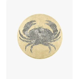 Art: Zodiac Cancer (Crab) : Screenprint : Guillaume Azoulay