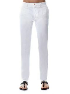 Flat front stretch cotton chinos  Dolce & Gabbana  MATCHESFA