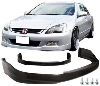 06 07 HONDA ACCORD 4DR FRONT LIP HFP STYLE URETHANE Automotive