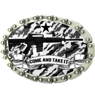 Come and Take it Belt Buckle Clothing