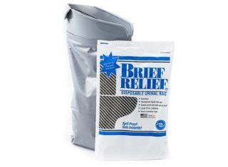 Disposable Urinal Bag (Brief Relief 100 Bags): Health & Personal Care