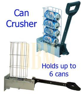 Recycling Aluninum Multi Can Crusher Smashing Beer Soda Can Compacter Recycle: Kitchen & Dining