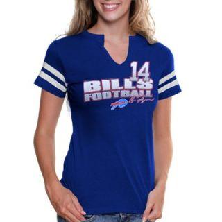 Ryan Fitzpatrick Buffalo Bills Womens My Crush IV T Shirt   Royal Blue