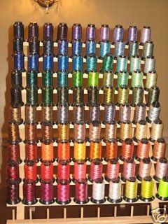 100 Different Colors Embroidery Machine Thread + 70 Variegated Spools