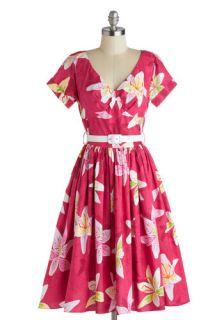 Bernie Dexter Destination, Dancing Dress in Sunset  Mod Retro Vintage Dresses